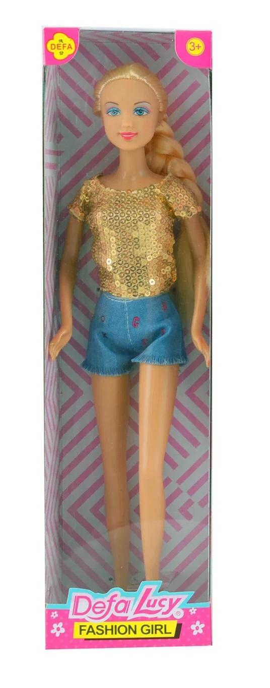 Defa Lucy Barbie Fashion Girl Doll 4