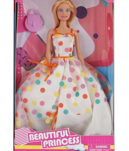 Defa Lucy Barbie Doll Polka Dots Dress 2