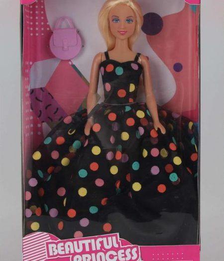 Defa Lucy Barbie Doll Polka Dots Dress 1