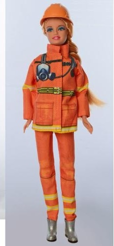 Defa Lucy Fire Women Barbie Doll 2