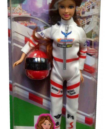 Defa Lucy F1 Racer Barbie Doll 4
