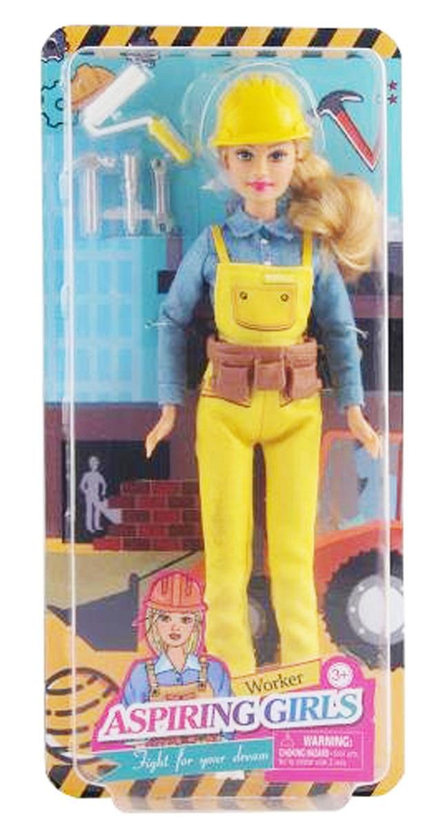 Defa Lucy Worker Barbie Doll 4