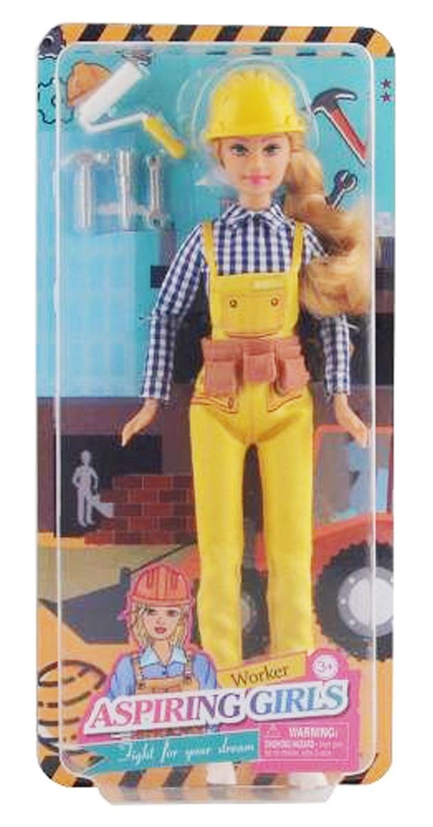 Defa Lucy Worker Barbie Doll 3