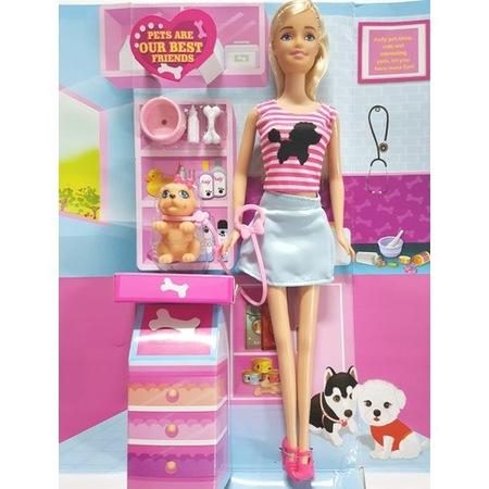 Anlily Pet Clinic Barbie Doll 2