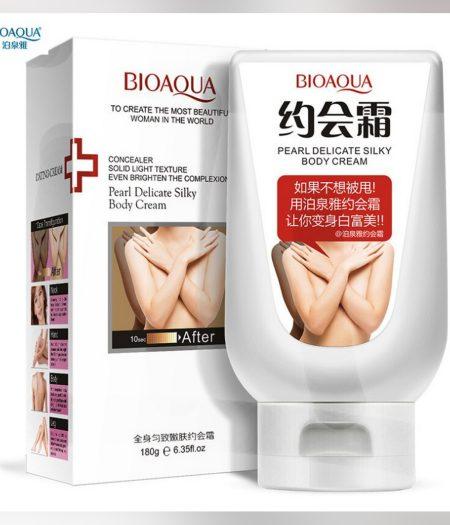 BIOAQUA Pearl Delicate Silky Body whitening Cream 180g 1