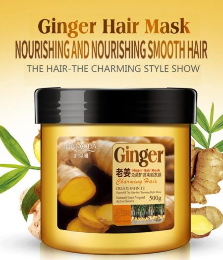 BIOAQUA Ginger Hair Mask for Nourishing & Smoothing Hair 500g