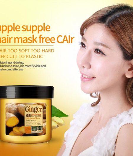 BIOAQUA Ginger Hair Mask for Nourishing & Smoothing Hair 500g 1