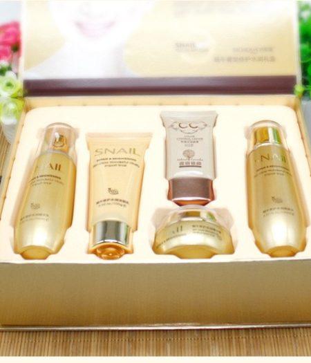 BIOAQUA Serum Cream Toner Cleanser CC Cream Essence Emulsion Face Care Kit 3