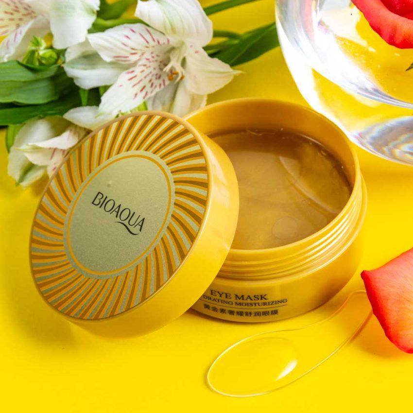 BIOAQUA Gold Collagen Eye Mask Anti Wrinkle Eye Patch Dark Circles Remover 60pcs 3