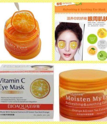Bioaqua Vitamin C Orange Moisturizing Eye Mask 36 pcs
