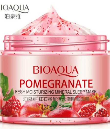 BIOAQUA Pomegranate Fresh Moisturizing Mineral Sleep Mask 120g 1