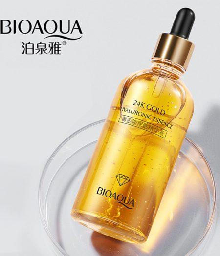 BIOAQUA 24k Gold Hyaluronic Essence Moisturizing Skin Care Anti Aging 100ml 1