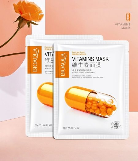 BIOAQUA Vitamin B2 Face Mask For Smooth Skin 30g x 5 2