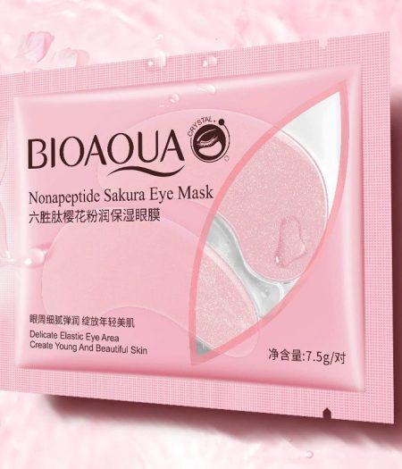 BIOAQUA Nonapeptide Sakura Eye Mask Delicate Elastic and Beautiful Skin 1