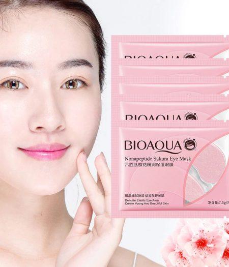 BIOAQUA Nonapeptide Sakura Eye Mask Delicate Elastic and Beautiful Skin 3