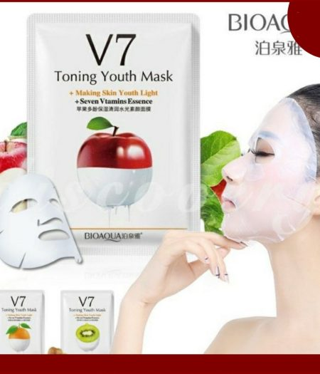 BIOAQUA Apple V7 Toning Moisturizing Anti Aging Facial Mask 3
