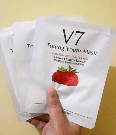 BIOAQUA Strawberry V7 Anti Aging Facial Mask 2