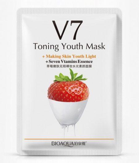 BIOAQUA Strawberry V7 Anti Aging Facial Mask 1