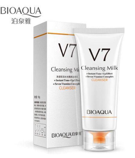 BIOAQUA V7 Cleansing Milk Face Wash Skin Care 2