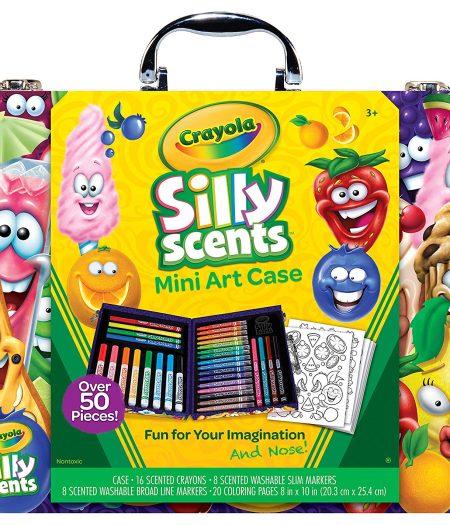 Crayola Scented Mini Inspirational Crayola Art Case Set 1