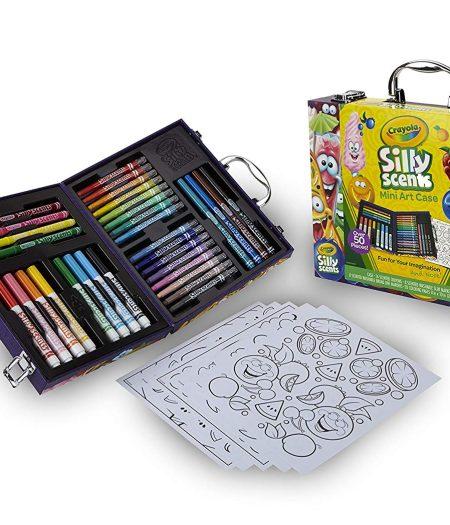 Crayola Scented Mini Inspirational Crayola Art Case Set 3