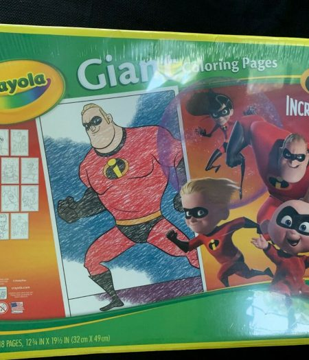 Crayola Incredibles 2 Giant Coloring Book 18 Pages 3