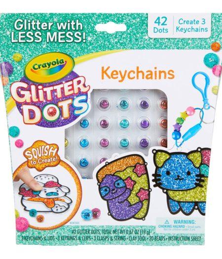 Crayola Glitter Dots Key Chains 2