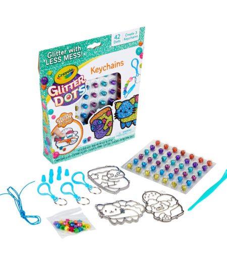 Crayola Glitter Dots Key Chains 3