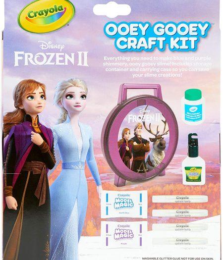 Crayola Frozen 2 Gooey Fun Art Set Glitter Slime Supplies 1