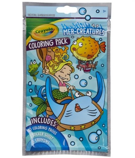 Crayola Coloring Pack MER Creatures 2