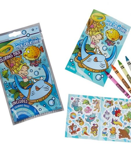 Crayola Coloring Pack MER Creatures 1