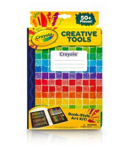 Crayola Creativity Tools Book Style 50 Colors Art Kit 1