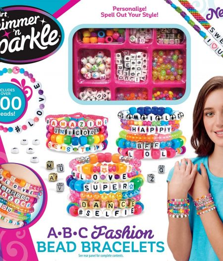 Cra-Z-Art Shimmer N Sparkle DIY ABC Fashion Beads 2