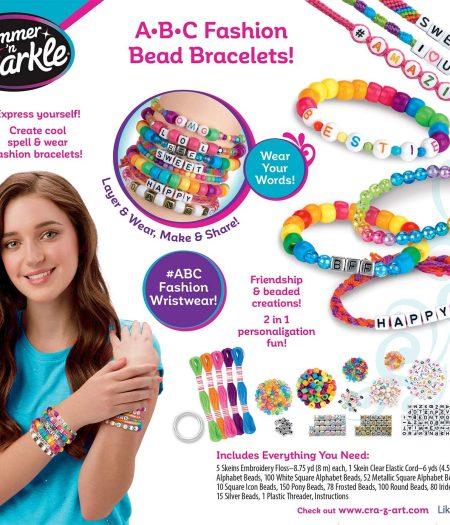 Cra-Z-Art Shimmer N Sparkle DIY ABC Fashion Beads 3