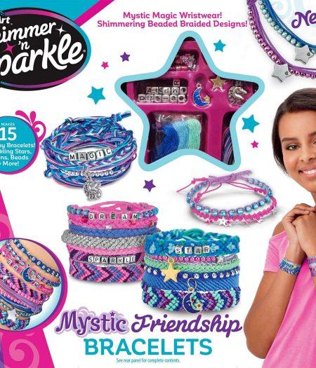 Cra-Z-Art Shimmer & Sparkle Mystic Madness Friendship Bracelet Kit 2