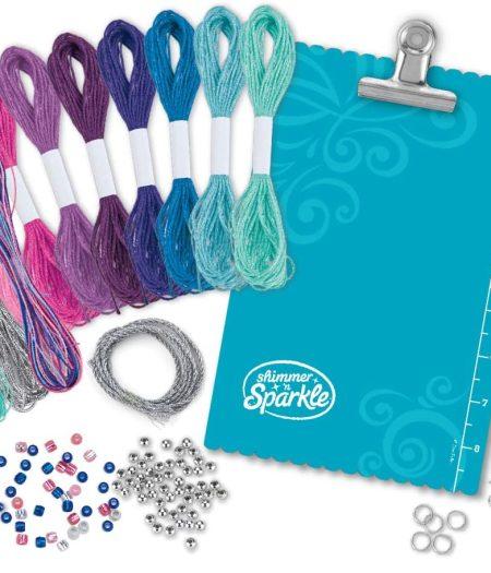 Cra-Z-Art Shimmer & Sparkle Mystic Madness Friendship Bracelet Kit 1