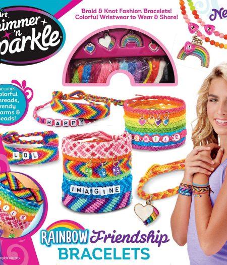 Cra-Z-Art Shimmer & Sparkle Over The Rainbow Friendship Bracelet Kit 2