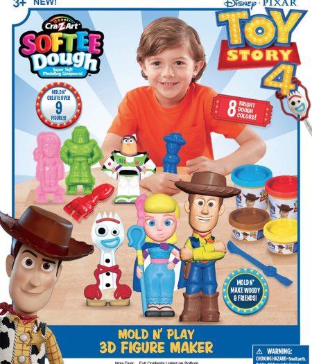 Cra-Z-Art Disney Toy Story IV 3D Dough To Make Figures 2