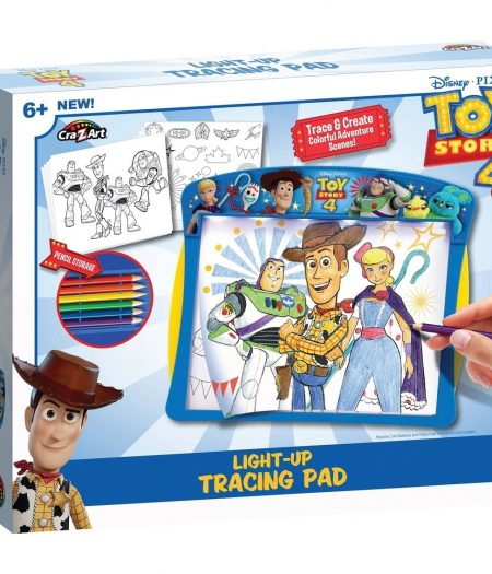 Disney Toy Story 4 Bright Led's Light Up Tracing Pad 2
