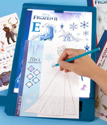 Disney Frozen 2 Fashion Design Tracing Light Table 1