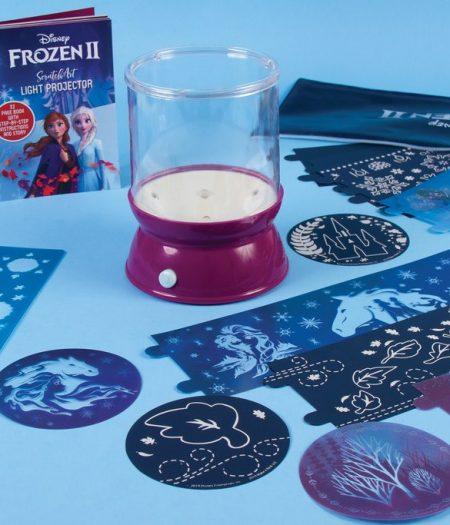 Disney Frozen 2 ScratchvArt Light Projector 4