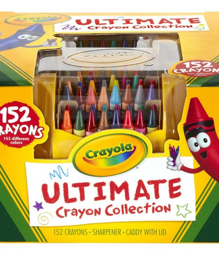 Crayola Collection 152 Pieces Color Crayons Art Set Gift 2