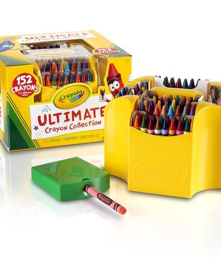 Crayola Collection 152 Pieces Color Crayons Art Set Gift 5
