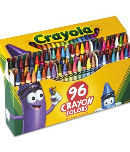 Crayola 96 Colors Crayons Sharpener 2