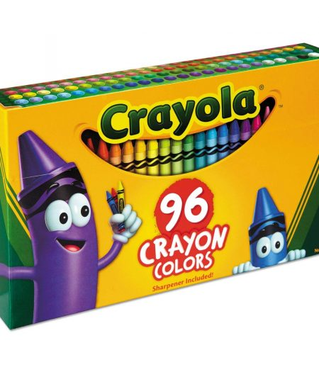 Crayola 96 Colors Crayons Sharpener 3