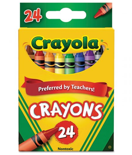 Crayola Classic Color Crayons 24 Colors Pack 3
