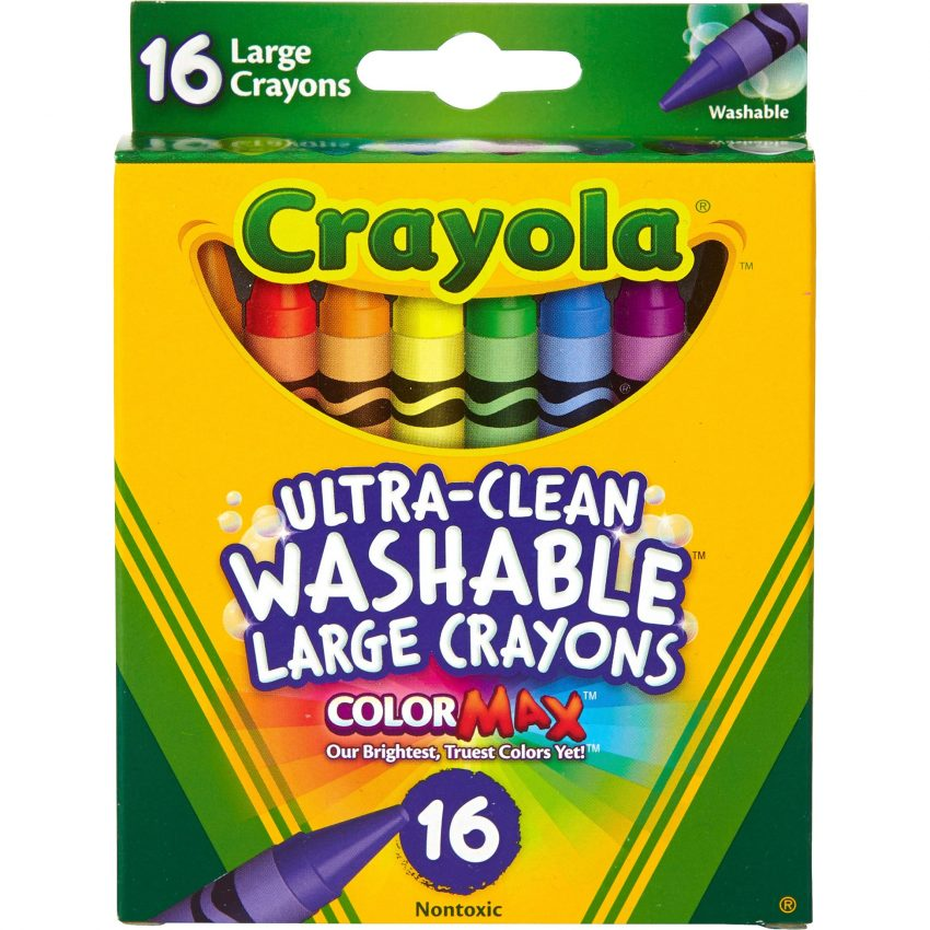 Crayola Ultra-Clean Washable Large Crayons 2