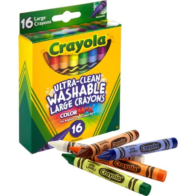Crayola Ultra-Clean Washable Large Crayons 3