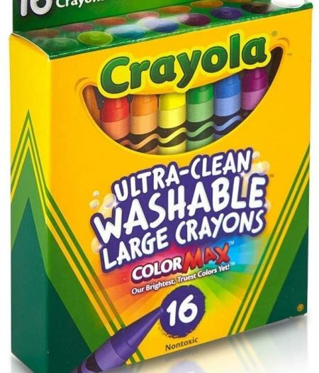 Crayola Ultra-Clean Washable Large Crayons 1
