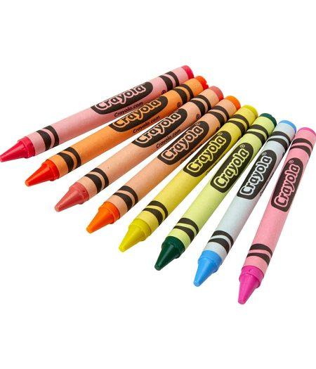 Crayola Neon Crayons 8 Count 4